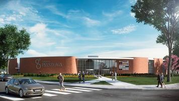 zdjęcie z budowy Galeria Piastova