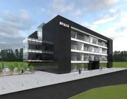 zdjęcie z budowy Centrum badawczo-rozwojowe Inglot
