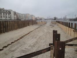 zdjęcie z budowy Pasaż Aniński