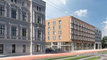 wizualizacje Aparthotel Nowomiejska