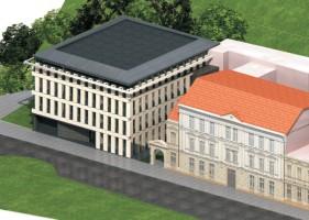 zdjęcie z budowy Sąd Okręgowy