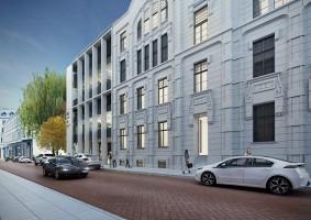 zdjęcie z budowy Teal Office