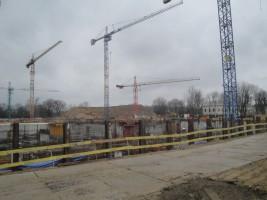 zdjęcie z budowy Muzeum Historii Polski