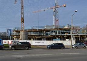 zdjęcie z budowy le|gni|cka trzydzieścitrzy