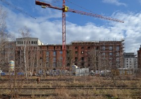 zdjęcie z budowy Nowe Miasto Różanka