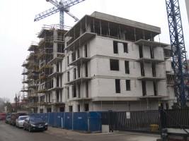 zdjęcie z budowy Lira Park