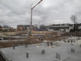 zdjęcie z budowy Wesoła House
