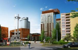 wizualizacje Stocznia - Young City