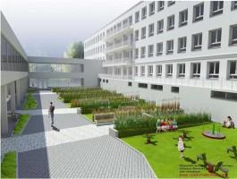 zdjęcie Skrzydło Południowe Wojewódzkiego Specjalistycznego Szpitala Dziecięcego