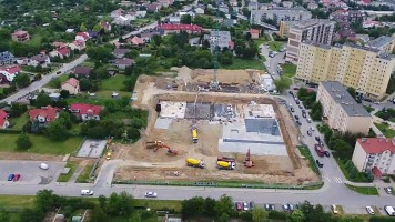 zdjęcie z budowy Nowoczesne Pobitno