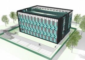 zdjęcie z budowy Budynek laboratoryjno-badawczy Brain