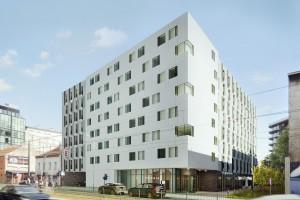 zdjęcie z budowy Hotel ibis Styles Kraków