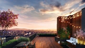 zdjęcie z budowy Apartamenty Horyzont