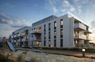 zdjęcie z budowy Apartamenty Rewal