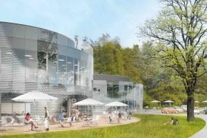 zdjęcie z budowy Muchowiec Active Park