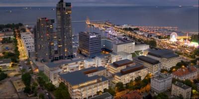 zdjęcie z budowy Gdynia Waterfront II