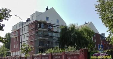 zdjęcie z budowy Liberty House