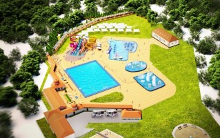 zdjęcie z przebudowy Letni Park Wodny AquaFun