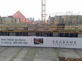 zdjęcie z budowy Brabank II Apartamenty