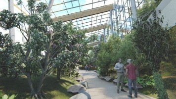 wizualizacje Centrum Edukacji Ekologicznej – Egzotarium