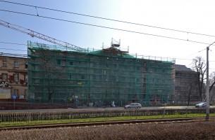 zdjęcie z przebudowy Rezydencja Święta Jadwiga