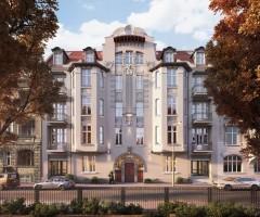 zdjęcie z przebudowy Matejki 51