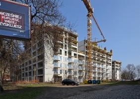 zdjęcie z budowy Atal City Square