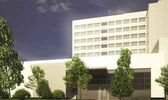 zdjęcie z budowy Blok Operacyjny Szpitala