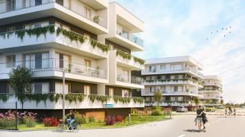 zdjęcie z budowy Platinium Apartamenty