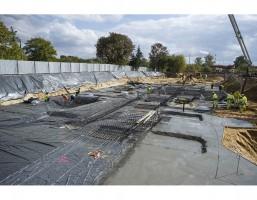 zdjęcie z budowy Osiedle Wiślany Mokotów IV