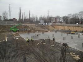 zdjęcie z budowy Osiedle Stacja Wola