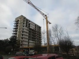 zdjęcie z przebudowy Przebudowa sanatorium Hutnik