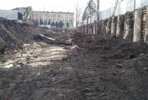 zdjęcie z budowy Sokolska 30 Towers