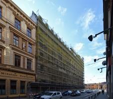 zdjęcie z przebudowy Hotel Mövenpick Wrocław