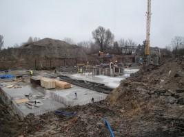 zdjęcie z budowy Apartamenty Raków