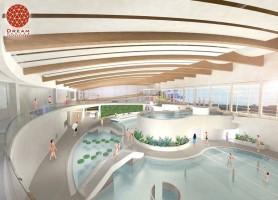 zdjęcie z budowy Aquapark