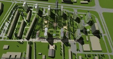 wizualizacje Green Park