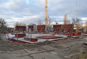 zdjęcie z budowy Geocentrum II