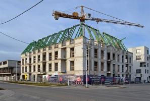 zdjęcie z budowy Osiedle Lilia