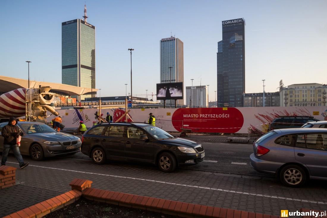 W budowie Varso Tower , Chmielna Business Center