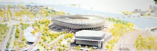 wizualizacje Nowa Zabudowa Okolic Stadionu Narodowego