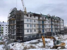 zdjęcie z budowy Świętokrzyska Park