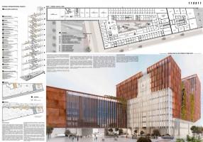 wizualizacje Nowy Ratusz w Nowym Centrum Łodzi