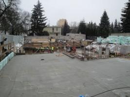 zdjęcie z budowy Mickiewicza 58