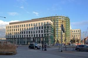 zdjęcie z budowy Sagittarius Business House