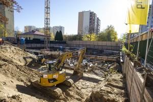 zdjęcie z budowy Osiedle Deko