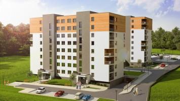 zdjęcie z budowy Apartamenty Zachód