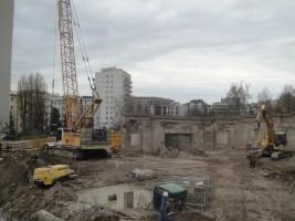 zdjęcie z budowy Rotunda Dynasy