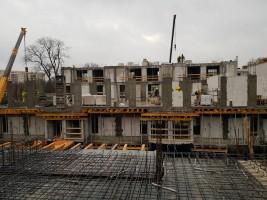 zdjęcie z budowy Villa de Charme