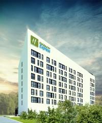 zdjęcie z budowy Hotel Holiday Inn Express